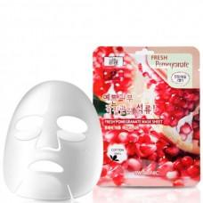 3W CLINIC Fresh pomegranate mask sheet - Маска для лица тканевая с гранатом 23мл