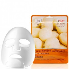 3W CLINIC Fresh potato mask sheet - Маска тканевая для лица картофель 23мл