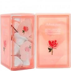 JMsolution Luminious flower firming powder cleanser rose - Энзимная пудра для умывания с розовой водой 30 х 0,35гр