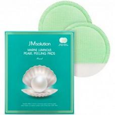 JMsolution Marine luminous pearl peeling pads - Пилинг-пады с морскими минералами 7гр