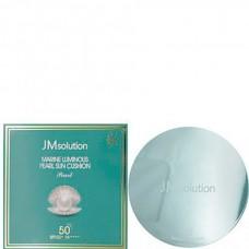 JMsolution Marine luminous pearl sun cushion SPF50+ - Солнцезащитный кушон с экстрактом жемчуга 25мл