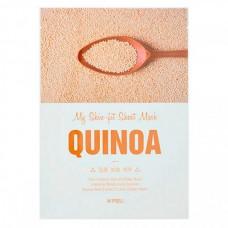 A`PIEU My skin-fit sheet mask quinoa - Маска для лица тканевая с экстрактом киноа 25гр