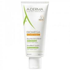 A-DERMA EXOMEGA CONTROL Emollient Balm - Смягчающий бальзам для лица и тела 200мл