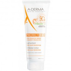 A-DERMA PROTECT KIDS Children Lotion SPF50+ - Cолнцезащитный спрей для детской кожи СЗФ 50+, 250мл