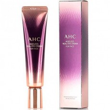 AHC Ageless real eye cream for face - Крем для кожи вокруг глаз и лица антивозрастной 30мл