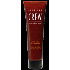 AMERICAN CREW LIGHT HOLD GEL TUBE - Гель для укладки волос слабой фиксации 250мл