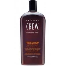 AMERICAN CREW POWER CLEANSER STYLE REMOVER SHAMPOO - Шампунь для ежедневного ухода, очищающий волосы от укладочных средств 1000мл