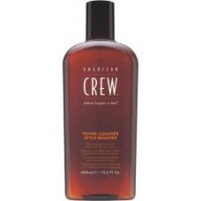 AMERICAN CREW POWER CLEANSER STYLE REMOVER SHAMPOO - Шампунь для ежедневного ухода, очищающий волосы от укладочных средств 450мл