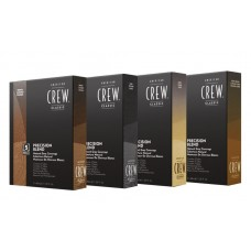 AMERICAN CREW PRECISION BLEND - Краска для седых волос ТЁМНЫЙ ОТТЕНОК 2/3, 3 х 40мл