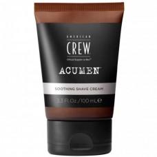 AMERICAN CREW soothing shave cream ACUMEN - Крем успокаивающий для бритья 100мл