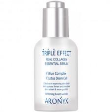 ARONYX Triple effect serum - Тройной эффект Сыворотка с морским коллагеном 50мл