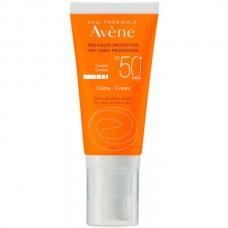 Avene SUN Very high protection Cream FRAGRANCE FREE SPF50+ - Солнцезащитный крем без отдушек СЗФ 50+, 50мл