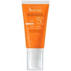 Avene SUN Very high protection CREAM SPF50+ - Cолнцезащитный Антивозрастной крем СЗФ 50+, 50мл