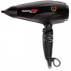 BaByliss PRO BAB7000IE Rapido Ferrari - Профессиональный фен для волос РАПИДО Феррари ЧЁРНЫЙ 2200 Вт