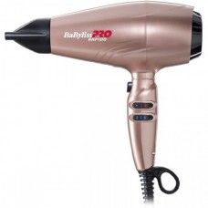 BaByliss PRO BAB7000IRGE Rapido Ferrari Rose Gold - Профессиональный фен для волос РАПИДО Феррари РОЗОВОЕ ЗОЛОТО 2200 Вт