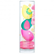 beautyblender Rocket to Flawless - Подарочный набор 3 спонжа + 2 мыла + подушечка