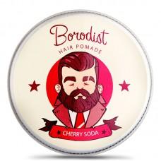 Borodist Hair Pomada Cherry Soda - Бриолин для Волос ЧЕРИ СОДА 100гр