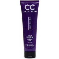 BRELIL Professional CC COLOR CREAM - Колорирующий крем Слива (ФИОЛЕТОВЫЙ) 150мл