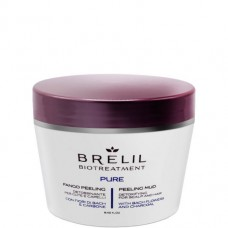 BRELIL Professional BIOTREATMENT PURE PEELING MUD - Пилинг грязевой для волос и кожи головы 250мл