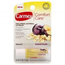 Carmex Lip Balm SUGUR PLAM - Бальзам-стик для губ СЛИВА 4.25гр
