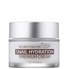 CELRANICO Return To Nature SNAIL HYDRATION Premium Cream - Укрепляющий крем с муцином улитки 50мл
