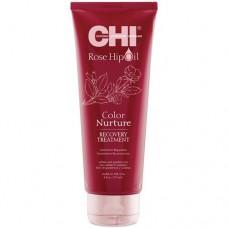 CHI Rose Hip Oil Recovery Treatment - Маска с маслом розы и кератином 237 мл.
