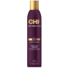 CHI Deep Brilliance Olive & Monoi Optimum Finish Flexible Hold Hair Spray - Лак для волос эла­стичной фиксации 296мл
