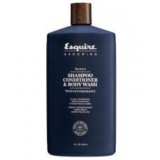 CHI Esquire MEN 3-in-1 Shampoo, Conditioner, Bodywash - Мужской 3 в 1 Шампунь, Кондиционер и Гель для Душа 414мл