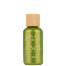 CHI Olive organics OLIVE & SILK Hair and Body Oil - Масло для волос и тела с маслом оливы 15мл