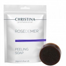 CHRISTINA professional ROSEDEMER PEELING SOAP - Натуральный мыльный пилинг 30гр