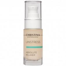 CHRISTINA Unstress Absolute relaxer - Сыворотка для абсолютного разглаживания морщин 30мл