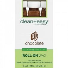"""clean+easy Wax chocolate - Воск в катридже """"Шоколадный"""" 80гр"""