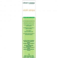 clean+easy Wax Cloth strips small - Бумажные ленты для лица 100шт