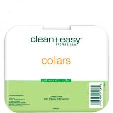 clean+easy Wax Collars - Кольца защитные для баночного воска 50шт