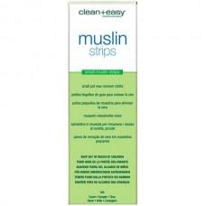 clean+easy Wax Muslin strips Small - Муслиновые полоски Узкие 100шт