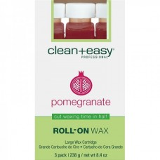 "clean+easy Wax Pomegranate - Воск в катридже ""Гранатовый"" 80гр"