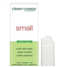 clean+easy Wax Roller Heads Small - Роликовая головка д/бровей (на 12гр), 1шт