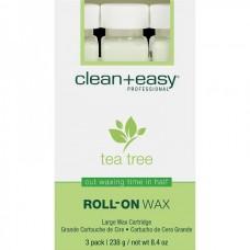 """clean+easy Wax tea tree - Воск в катридже """"Зелёный чай"""" 80гр"""