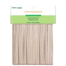 clean+easy Wax Wood Applicator Small - Деревянные шпатели маленькие 100шт