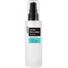 coxir TEA TREE PORE & SEBUM Emulsion - Освежающая эмульсия для проблемной кожи 100мл