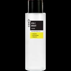 coxir VITA C BRIGHT Toner - Тонер для выравнивания тона кожи с витамином С, 150мл