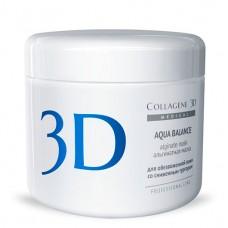 Collagene 3D Mask AQUA BALANCE - ПРОФ Альгинатная маска для лица и тела с гиалуроновой кислотой 200гр