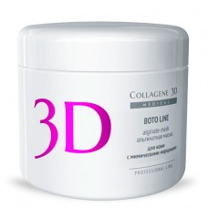 Collagene 3D Mask BOTO LINE - ПРОФ Альгинатная маска для лица и тела с аргирелином 200гр