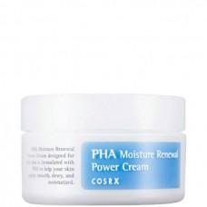 COSRX PHA Moisture Renewal Power Cream - Обновляющий крем с PHA-кислотами 50мл