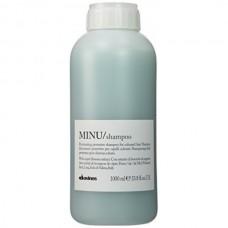 Davines MINU/ shampoo - Шампунь для сохранения цвета 1000мл