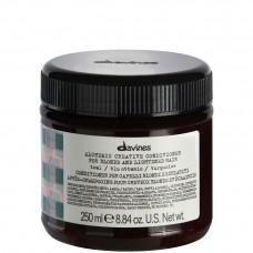Davines ALCHEMIC CONDITIONER (teal) - Кондиционер «АЛХИМИК» для Натуральных и Окрашенных Волос (МОРКАЯ ВОЛНА) 250мл