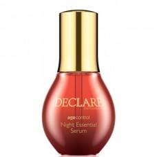 DECLARE AGE CONTROL 40+ Night Essential Serum - Ночная восстанавливающая сыворотка 50мл