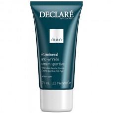 DECLARE MEN Anti-Wrinkle Cream Sportive - Омолаживающий крем для активных мужчин 75мл