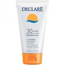 DECLARE SUN SENSITIVE Anti-Wrinkle Sun Lotion SPF30 - Солнцезащитный лосьон с омолаживающим действием СЗФ 30, 150мл