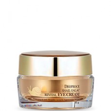 Deoproce Snail galac-tox revital eye cream - Крем для век с муцином улитки 30гр